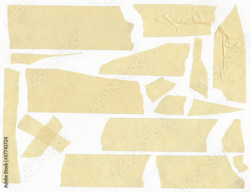masking Tape on a white background