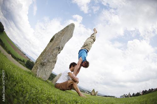 Human Handstand