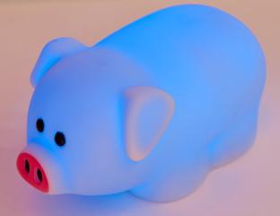 veilleuse cochon phosphorescent