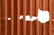 Rusty zinc background