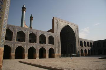 Beautiful Jame Abbasi mosque (Imam mosque) , Isfahan, Iran
