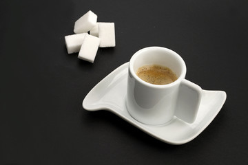 espresso and sugar