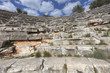 Amphitheater in Kas on Turkish Riviera