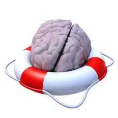 brain in a lifesaver
