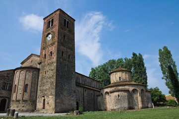 St.Giovanni church. Vigolo Marchese. Emilia-Romagna. Italy.