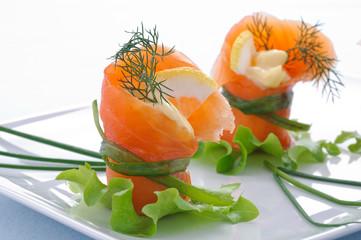 Salmone affumicato - antipasto