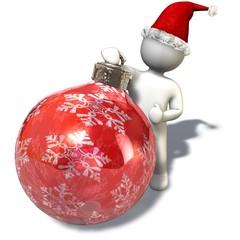 Der Weihnachtskugelmann