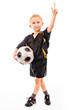 Kleiner Fussballspieler