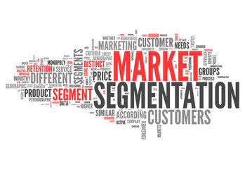 "Word Cloud ""Market Segmentation"""