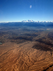 China Xinjiang Tianshan Mountains, aerial