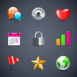 Internet and web icons