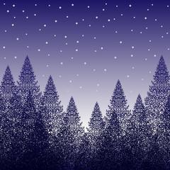 冬景色 青
