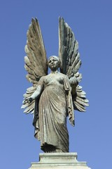 Statue of an Angel in Bath, England