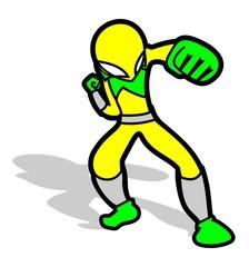 Heroe luchador