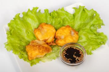 tempura hotate