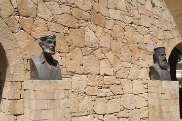 Arkadi Monastery site of famous massacre in Crete