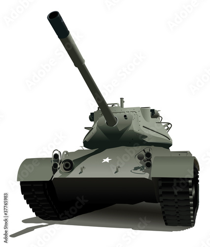 Plexiglas Militair Military Tank