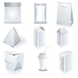 White package templates