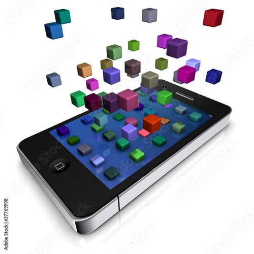 smartphone media
