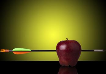Manzana y Flecha