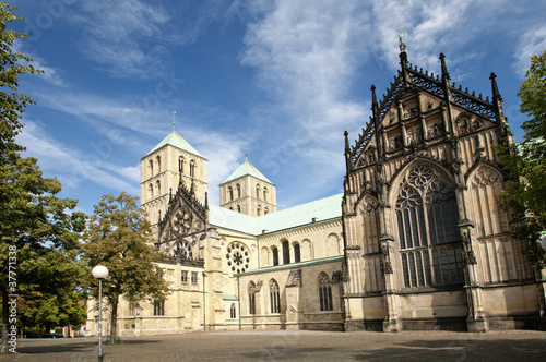Cathedral St. Paulus in Münster, Germany
