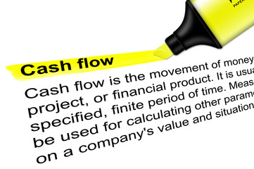 Highlighter Cash flow