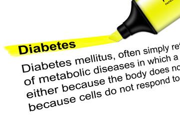 Highlighter Diabetes