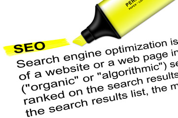 Highlighter search engine optimation