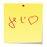 post it love