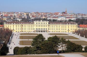 Shenbrun palace in Vienna. Austria