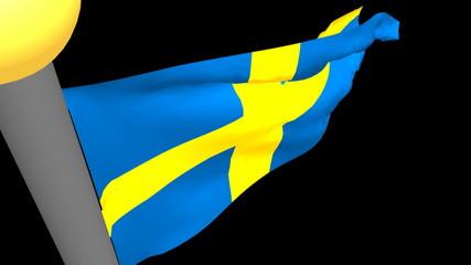 Bandiera svedese - Swedesh flag