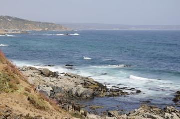 Oceano pacifico, Chile.