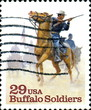 Buffalo Soldiers. US Postage.