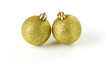 Palline di natale dorate - Christmas baubles golden