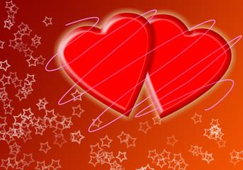 Felicitación de San Valentín.