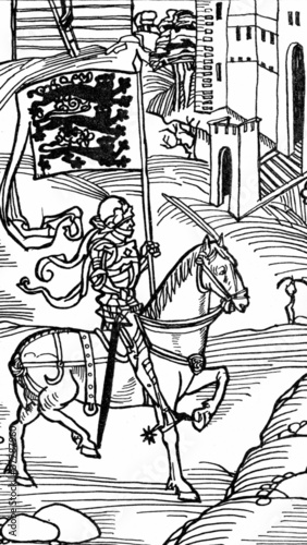 Knight (medieval draving)