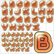 abc alphabet background automania design