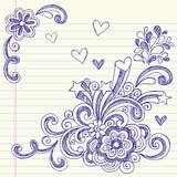 Sketchy Back to School Doodles Vector poster