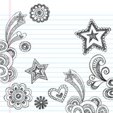Sketchy Notebook Doodles Vector Illustration Design