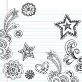 Sketchy Notebook Doodles Vector Illustration Design poster