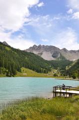 lac de l'Orceyrette, Alpes 11