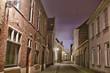 Medival street in Bruges