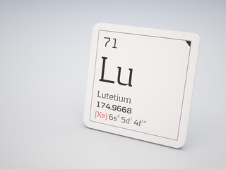 Lutetium - element of the periodic table