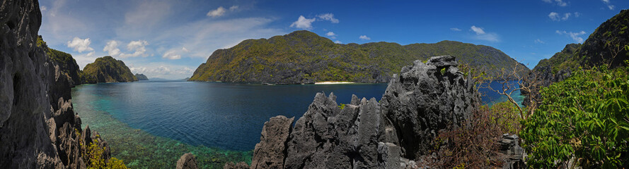 Palawan island - panoramatic