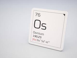 Osmium - element of the periodic table