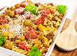 Auflauf - Käse und Rinderhack - Parmesan