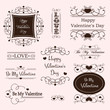 valentine's day decorative labels