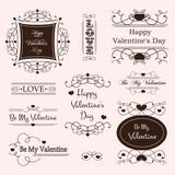valentine's day decorative labels
