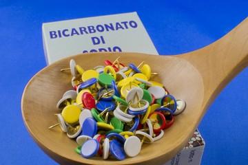 Bicarbonato - Mal di stomaco - indigestione