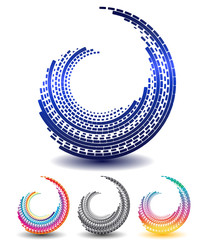abstract swirl icon